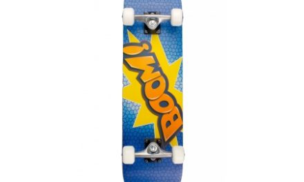 My Hood Boom – skateboard – ABEC 9 Blå/Orange