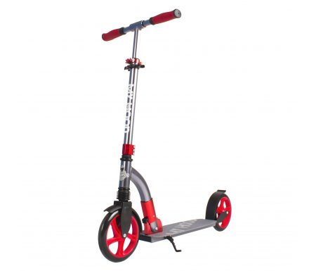My Hood Curve – Løbehjul til børn og voksne – Grå/Rød