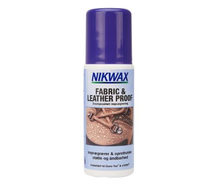 Nikwax Fabric & Leather – Imprægnering til fodtøj tekstil og skind – 125 ml