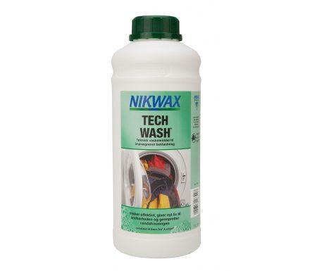 Nikwax Tech-Wash – Vaskemiddel til vandtæt beklædning – 1000 ml