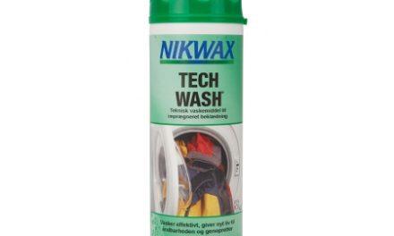 Nikwax Tech-Wash – Vaskemiddel til vandtæt beklædning – 300 ml