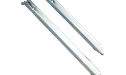 Nordisk Steel V-Peg – Stålpløkker – Galvaniseret stål – 6 stk.