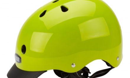 Nutcase Gen3 Super Solids – Skaterhjelm – Electric Olive/Neon gul