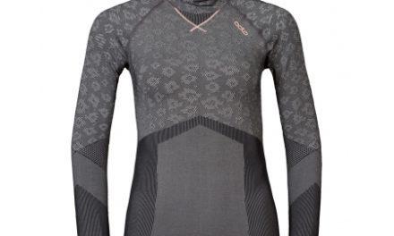 Odlo Blackcomb Evolution warm – Hættetrøje til dame – Grå