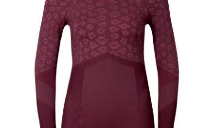 Odlo Blackcomb Evolution warm – Langærmet bluse til dame – Bordeaux