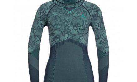 Odlo – Blackcomb Evolution Warm Shirt/Facemask – Dame – Mint