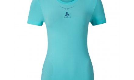 Odlo Ceramicool – Basis t-shirt – Dame – Turkis