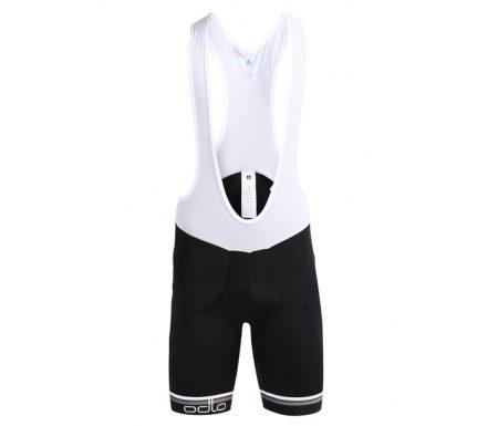 Odlo cykelbukser suspenders Flash X – Sort med pude