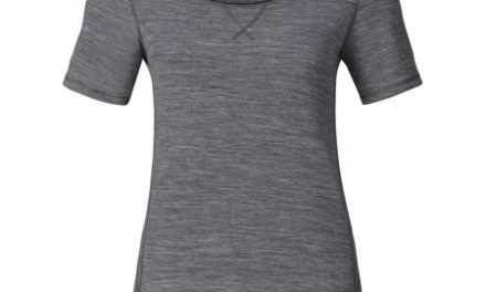 Odlo dame shirt – Revolution TW Light – Grey melange