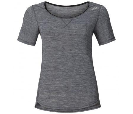 Odlo dame shirt – Revolution TW Light – Grey melange