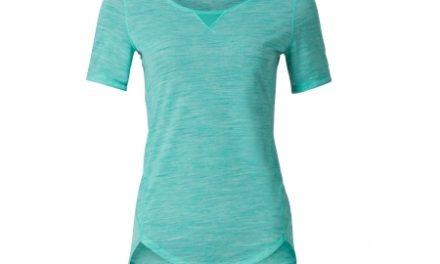 Odlo dame shirt – Revolution TW Light – Mintgrøn melange