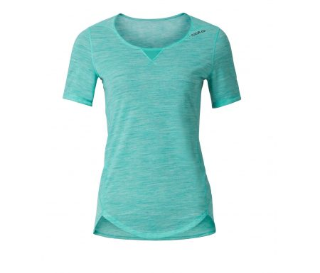Odlo dame shirt – Revolution TW Light – Mintgrøn melange