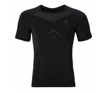 Odlo Evolution light – Basislag – T-shirt – Sort/grå