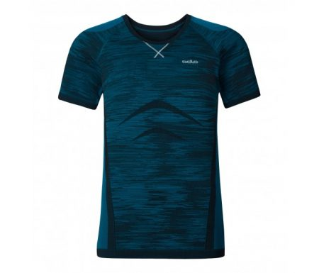 Odlo Evolution Light Blackcomb – Basis t-shirt – Blå
