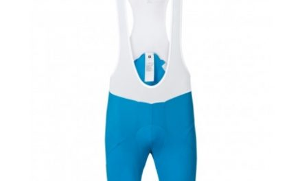 Odlo Flash X – Bib shorts – Blå