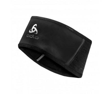 Odlo – Headband windstopper reflective – Løbepandebånd – Unisex – Sort