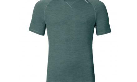 Odlo herre shirt – Revolution TW Light – Meleret armygrøn