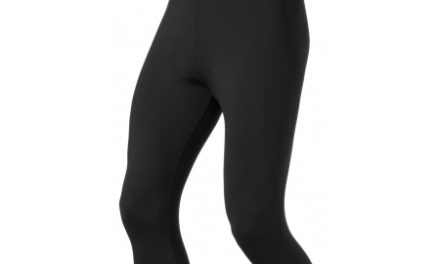 Odlo herre tights 3/4 – Sliq Active Run – Sort