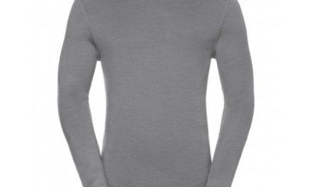 Odlo – Natural 100 Merino Shirt Crew Neck – Herre – Grå