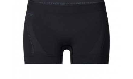 Odlo Panty Evolution Light – Hotpants til dame – Sort/grå