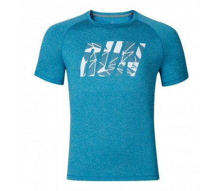 Odlo Raptor – Løbe t-shirt – Blå melange