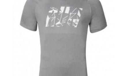 Odlo Raptor – Løbe t-shirt – Grå melange