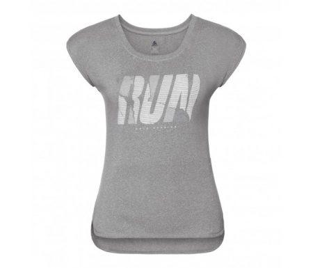Odlo Tebe – Løbe t-shirt – Dame – Grå melange