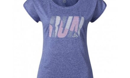 Odlo Tebe – Løbe t-shirt – Dame – Lilla