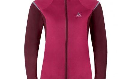 Odlo Zeroweight – Softshell/jersey jakke til dame – Bordeaux