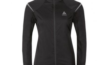 Odlo Zeroweight – Softshell/jersey jakke til dame – Sort