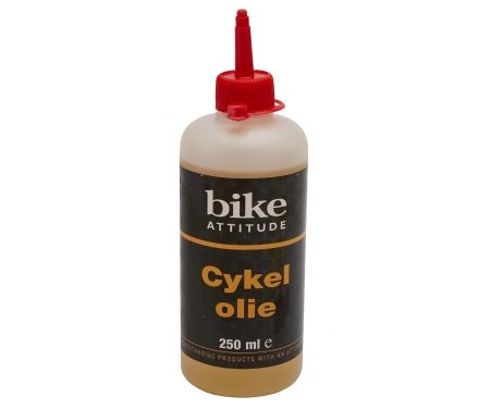 Olie Bike Attitude All round 250 ml i praktisk drypflaske