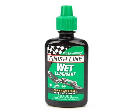 Olie Finish Line Cross Country Wet 60ml drypflaske grøn