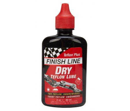 Olie Finish Line Dry Lube Teflon 60ml drypflaske rød