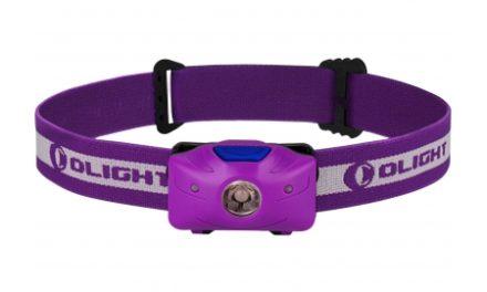 Olight H05 Active – Pandelampe – Lilla