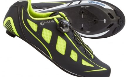 On Gear Cykelsko Carbon Race – Sort/Neongul