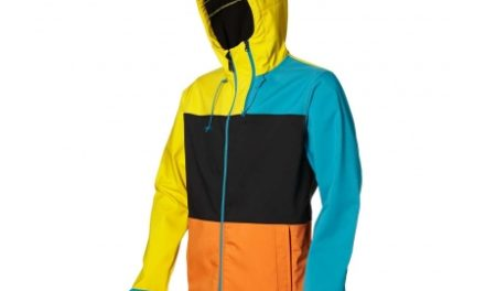 O´niell Edge HyperFleece – Softshell jakke – Blå/orange/gul – Str. L