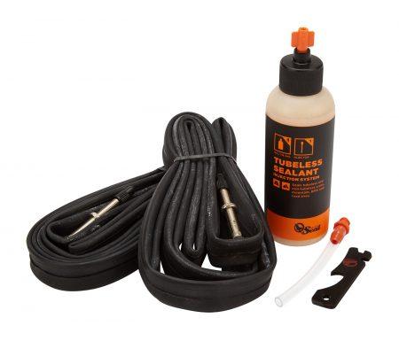 Orange Seal Road Tube Kit – 2 x 700×18-23c racerslanger – 118 ml. væske