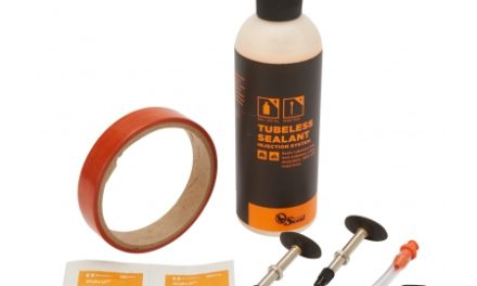 Orange Seal Tubeless Kit – 18 mm fælgtape – 237 ml. Regular væske