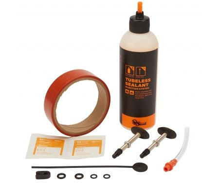 Orange Seal Tubeless Kit – 24 mm fælgtape – 237 ml. Regular væske