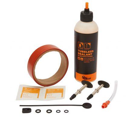 Orange Seal Tubeless Kit – 24 mm fælgtape – 237 ml. Regular væske