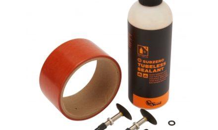 Orange Seal Tubeless Kit – 45 mm fælgtape – 237 ml. Subzero væske