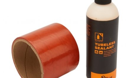 Orange Seal Tubeless Kit – 75 mm fælgtape – 237 ml. Regular væske