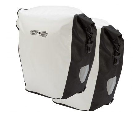 Ortlieb – Back-Roller City – Hvid/Sort 2 x 20 liter