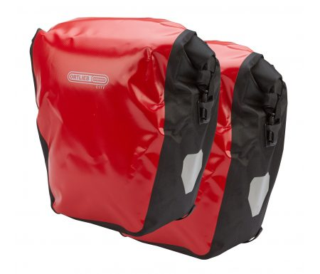 Ortlieb – Back-Roller City – Rød/Sort 2 x 20 liter