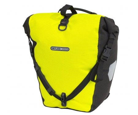 Ortlieb Back-Roller High Visibility – Gul/Sort – 20 liter
