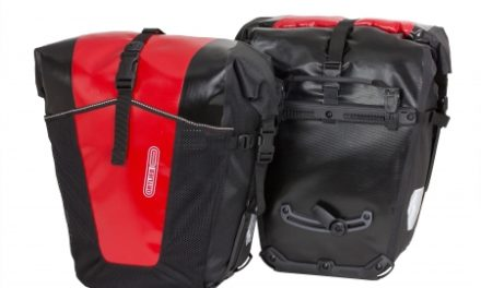 Ortlieb Back-Roller Pro Classic – 2 stk. cykeltasker – 2 x 35L Sort/rød