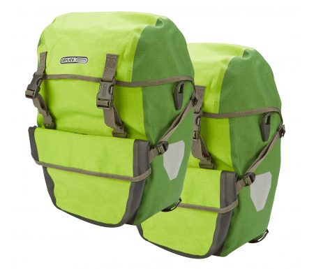 Ortlieb – Bike-Packer plus – Lime/Grøn 42 liter