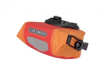 Ortlieb – Micro sadeltaske – Rød/Orange 0,6 liter