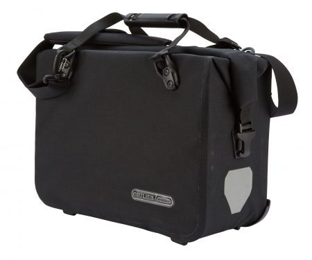 Ortlieb – OfficeBag – Sort Large/21 liter – QL 2.1 beslag