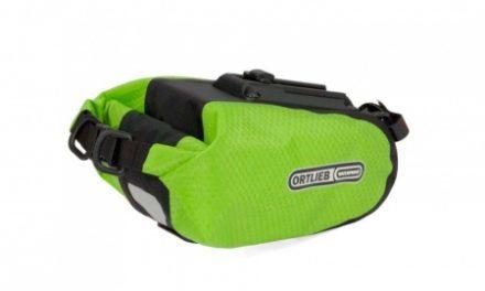 Ortlieb – Sadeltaske – Lime/Sort 0,8 liter